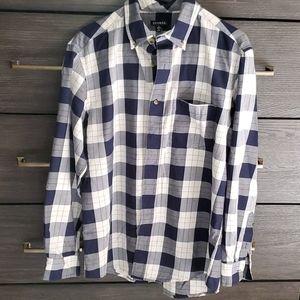 Plaid George Button Shirt